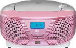MediaMarkt OK ORC 311 - Tragbares CD-Radio (AM, FM, Rosa)