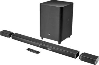 JBL Bar 5.1 - Soundbar + Subwoofer + Surround-Lautsprecher (Schwarz)