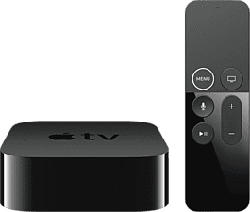 APPLE MP7P2ZD/A TV 4K HDR 64GB 5TH - Multimediaplayer (Schwarz)