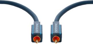 CLICKTRONIC 70443 - Câble coaxial Cinch