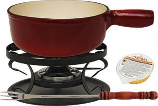 HEIDI CHEESE LINE Rustic Eco Red - Set à fondue (Rouge)