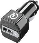 MediaMarkt CELLULAR LINE Qualcomm 3 - Chargeur auto (Noir)