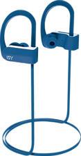 ISY IBH 3500 - Écouteurs Bluetooth avec crochets auriculaires  (In-ear, Bleu)