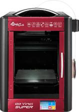 XYZ-PRINTING Da Vinci SUPER - 3D Drucker (Rot, Schwarz)