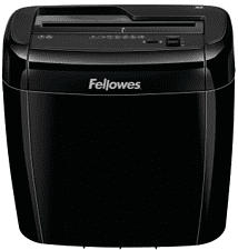 FELLOWES 36C - Distruggidocumenti (Nero)