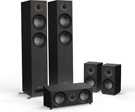 JAMO S 807 HCS - Système de haut-parleurs 5.0 (Noir)