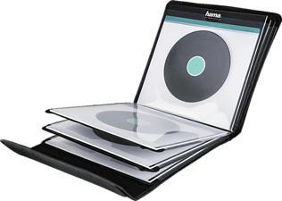 HAMA LP-Tasche 12 - LP-Tasche (Schwarz)