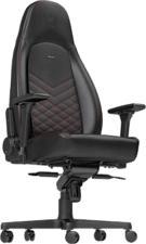 NOBLECHAIRS ICON - Chaise de jeu (Noir/rouge)