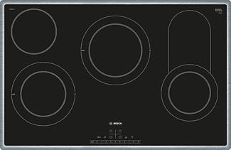BOSCH PKC845FP1C - Zone de cuisson (Acier inoxydable/Noir)