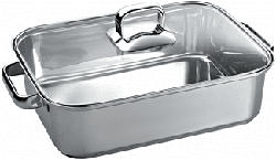 SIEMENS HZ390011 ROASTING DISH ST.STEEL Pentola per arrosti (Acciaio)
