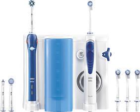 ORAL-B Health Center Pro 2000 - Oral Care Center (Bianco/Blu scuro)