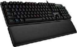 LOGITECH G513 GX Clicky - Gaming Tastatur (Schwarz)