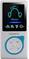 LENCO Xemio 668 - MP3 Player (8 GB, Blau)