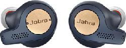 JABRA Elite Active 65T - True Wireless Kopfhörer (In-ear, Blau)