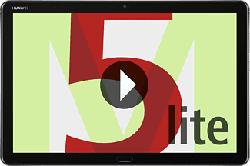 """HUAWEI MediaPad M5 lite Wi-Fi + Cellular - Tablet (10.1 """", 32 GB, Grigio)"""