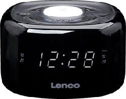 LENCO CR-12 - Radiosveglia (FM, Nero)