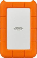 LACIE Rugged USB-C STFR5000800  - Disco rigido (HDD, 5 TB, Arancione/Argento)