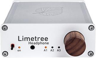 LINDEMANN Limetree Headphone - Amplificatore per cuffie (Bianco/Marrone)