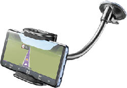 CELLULAR LINE Pilot Flexi - Flexible Smartphone-Halterung (Schwarz)