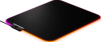 STEELSERIES QcK Prism Cloth - Tappetino per mouse da gioco RGB (Nero)