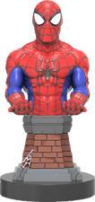 EXQUISITE GAMING Cable Guy - Spider Man - Contrôleur ou support de téléphone (Multicouleur)