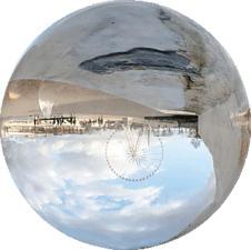 ROLLEI Lensball 60mm - Vollglaskugel (Transparent)