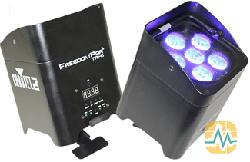 CHAUVET FREEDOM PAR TRI-6 LED - LED Projektor (Schwarz)