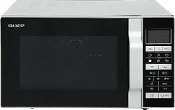 SHARP R860S - Microonde con funzioni Grill & aria calda