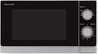 SHARP R200INW - Mikrowelle (Schwarz/Weiss)
