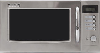 SHARP R-15AM - Micro-ondes (Acier inoxydable)