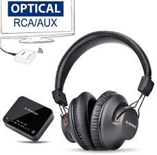 AVANTREE HT4189 - Bluetooth TV Kopfhörer (Over-ear, Schwarz)