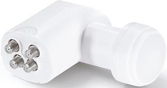 HAMA Lypsi 2 - LNB à commutateur quadruple (Blanc)