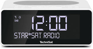 TECHNISAT DIGITRADIO 52 - Digitalradio (DAB+, FM, Weiss)
