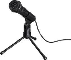 HAMA MIC-P35 Allround - Mikrofon (Schwarz)