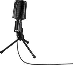 HAMA MIC-USB Allround - Microfono (Nero)
