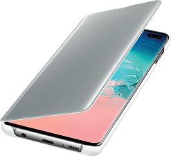 SAMSUNG Clear view - Étui portefeuille (Convient pour le modèle: Samsung Galaxy S10+)