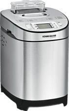 ROMMELSBACHER BA 550 - Machine à pain (Acier inoxydable)