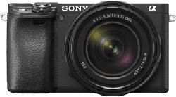 SONY Alpha 6400 + 18-135MM F/3.5-5.6 - Fotocamera (Risoluzione efficace della foto: 24.2 MP) Nero
