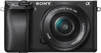 SONY Alpha 6400 + 16-50MM F/3.5-5.6 - Systemkamera (Fotoauflösung: 24.2 MP) Schwarz