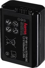 HAMA DP 486 - Batterie de remplacement (Noir)