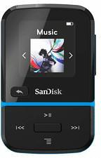 SANDISK Clip Sport Go - Lecteur MP3 (16 GB, Bleu/noir)