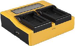 PATONA 7580 Dual - Caricatore (Nero/Giallo)