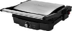 TRISTAR GR-2853 Grill a contatto - bistecchiera (Nero, Acciaio inossidabile)