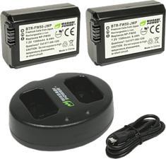 WASABI POWER KIT-BB-FW50-01 - Batterie (Noir)