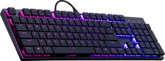 COOLER MASTER SK650 - Tastiera di gioco (Nero)