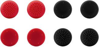 SPEEDLINK Stix Pro Controller Cap Set - Analog-Stick-Aufsätze (Rot/Schwarz)