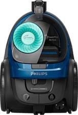 PHILIPS PowerPro Active - Beutelloser Staubsauger (Schwarz/Blau)