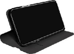 BLACK ROCK Flex Carbon - Custodia a libro (Adatto per modello: Samsung Galaxy S10+)