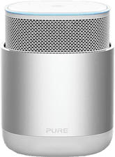 PURE DIGITAL DiscovR - Smart Speaker (Silber)