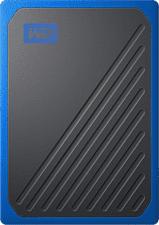 WESTERN DIGITAL My Passport Go (2019) - Festplatte (SSD, 500 GB, Blau/Schwarz)